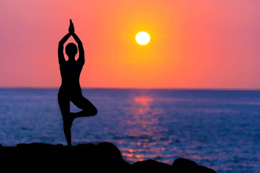 Sunset Yoga For Charity Thrive Yoga Amp Massage